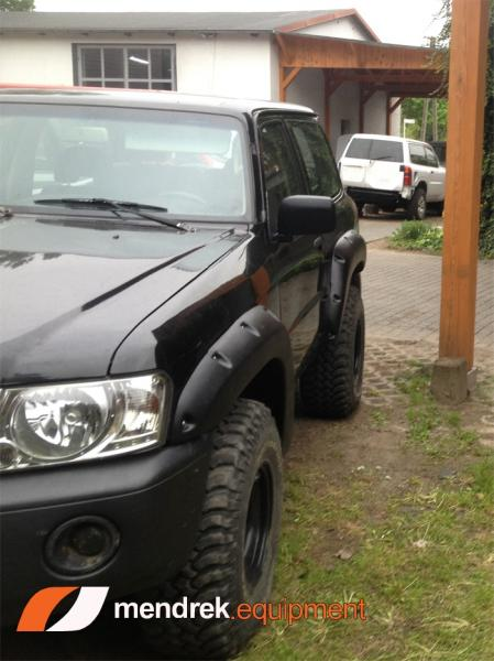 Fender flares for Nissan Patrol Y61 GU4  3 door version width 10cm